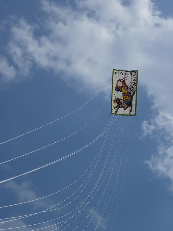 Vliegende Chineese kite