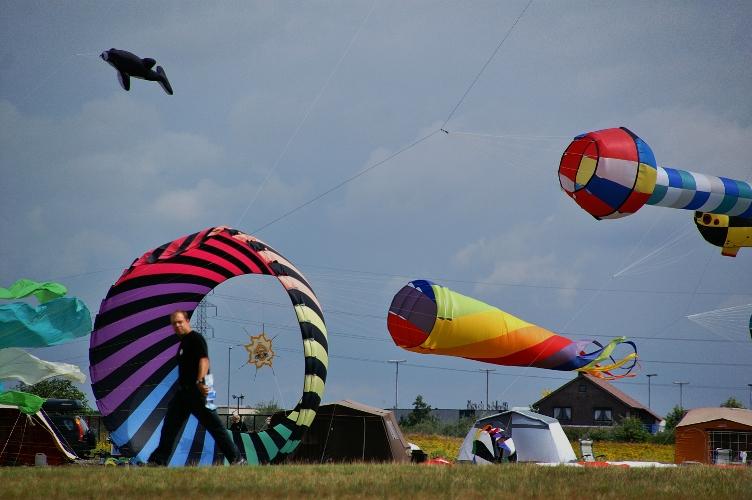 overzicht 3D kites Festival