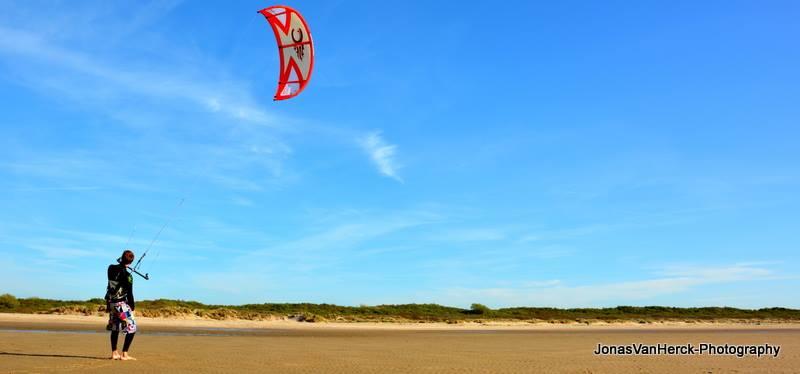 Starten kite
