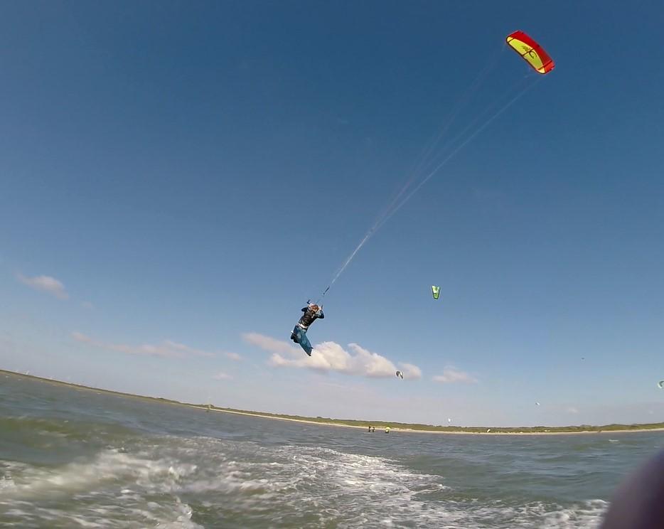 Kitesurf te oostvoorn